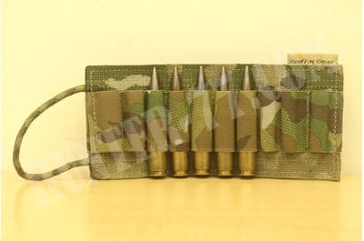 Red Tac Gear 20 Round Ammo Card multicam .223, .30, .338LM