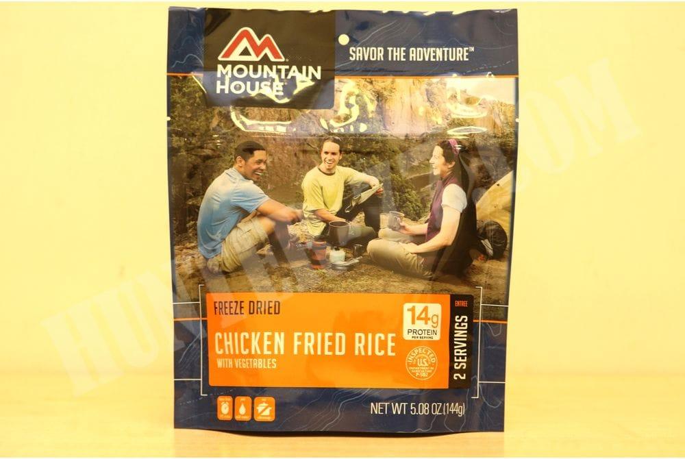 Курица с рисом грибами и овощами  2 порции POUCH