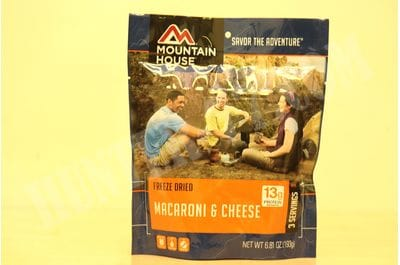 Макароны с сыром, 3 порции пакет