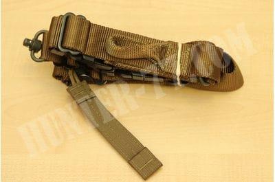 Ремень TAB Pinnacle PRS Flush Cups QD Coyote для винтовки