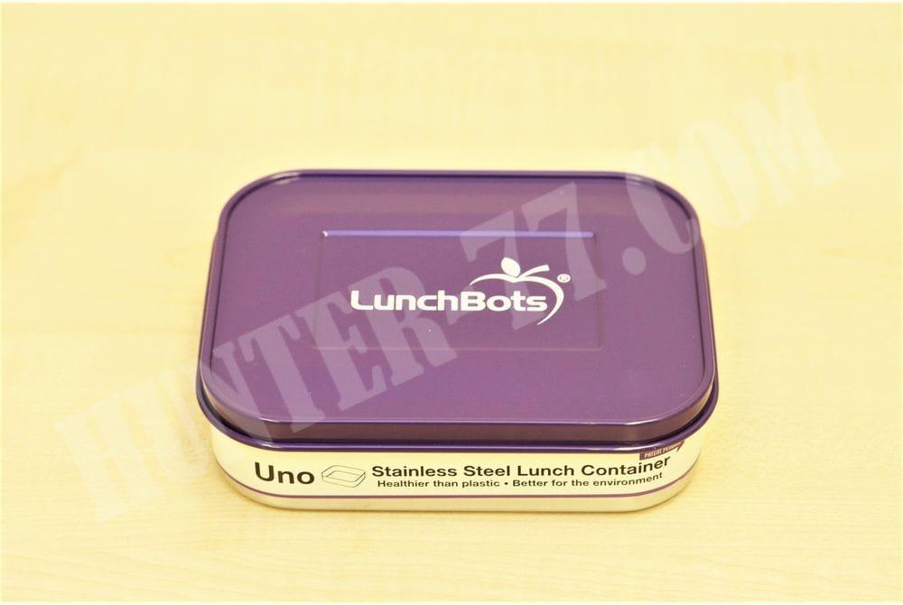 Контейнер для еды LunchBots 0,6 L фиолетовый
