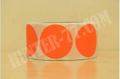 """Мишени 2"""" 500 штук флюоресцентная оранжевая"""