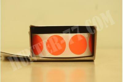 """Мишени 1"""" 1000 штук флюоресцентная оранжевая"""