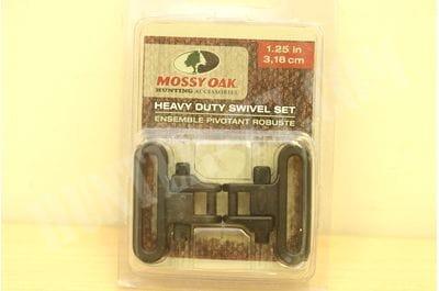 """Антабки Mossy Oak Swivel черные 1"""" 1,25"""""""