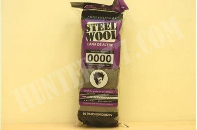 Стальная вата 16 рул. Red Devil Steel Wool 0000 Super Fine