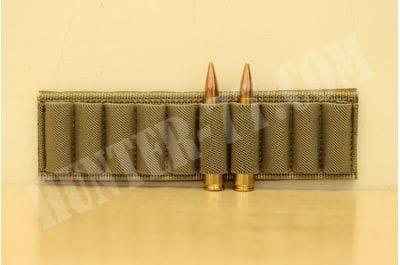 Патронташ 10 патронов на велкро для книги стрелка модульный