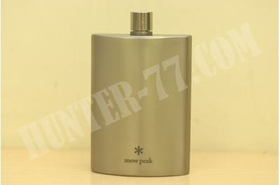 Snow Peak Titanium Flask, Medium T-012 150ml