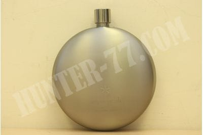 Titanium Round Flask by Snow Peak Curved 198ml T-015