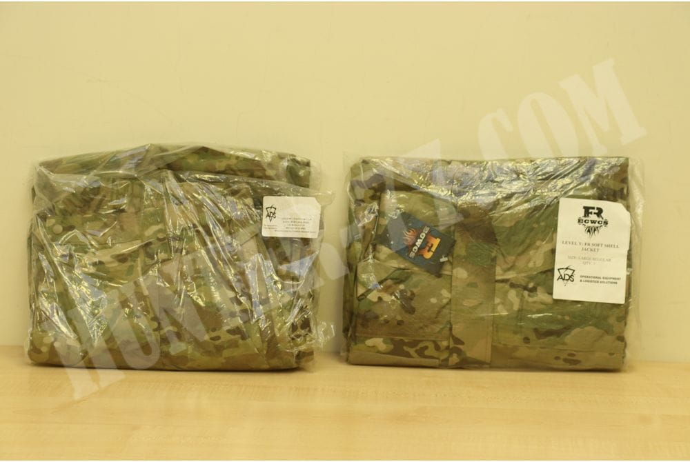 Слой 5 Софт-шелл GEN IV L5  Soft Shell Jacket Trouser FREE- FIRE RESISTANT multicam Level 5