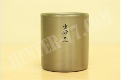 Титановая термокружка H300 мл Snow Peak TI-DOUBLE STACKING MUG TW-123