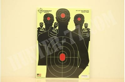 Targets 18 x 24 Three Splatterburst Targets for firing