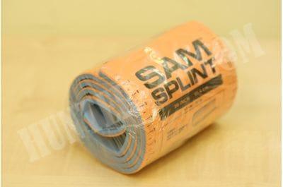 """Шина рулон 36"""" SAM Splint оранжевая для фиксации переломов"""