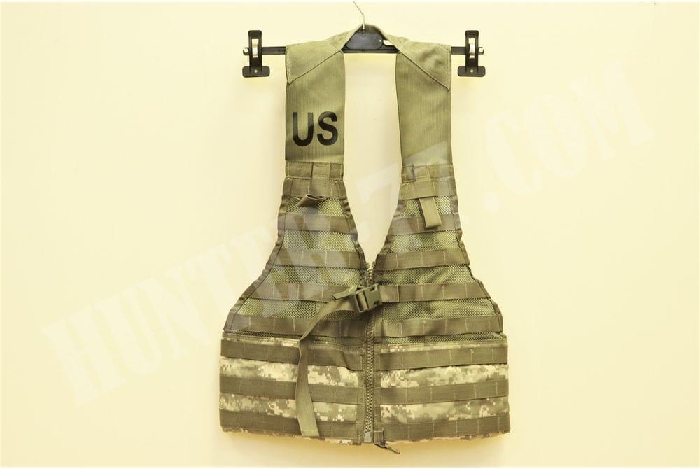 Военный разгрузочный жилет ACU армии США Fighting Load Carrier FLC Vest Camouflage Molle II