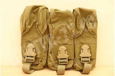 Eagle Industries Triple Mag Pouch Khaki MP3-M4/AK-3-PC-MS-5KH AK 47/74