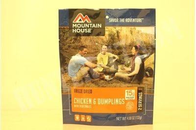 Цыплёнок в клёцках с овощями, пакет 2 порции