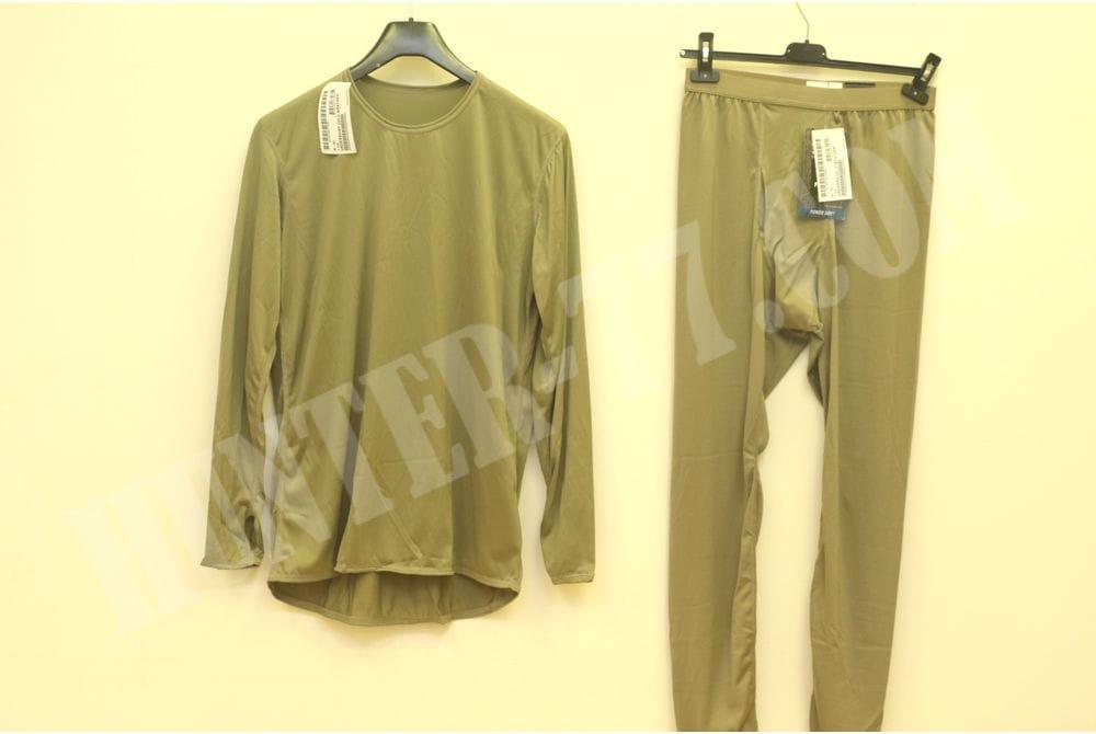 L1 Костюм Койот рубашка-кальсоны Легкое влагоотводящее термобелье  Слой 1 GEN III ECWCS