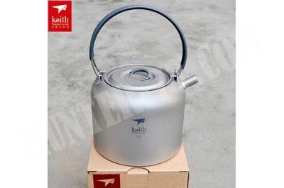 Титановый чайник Keith Ti3907 1.5 L
