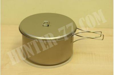 Титановая кастрюля 2.0L SNOW PEAK + 2 крышки