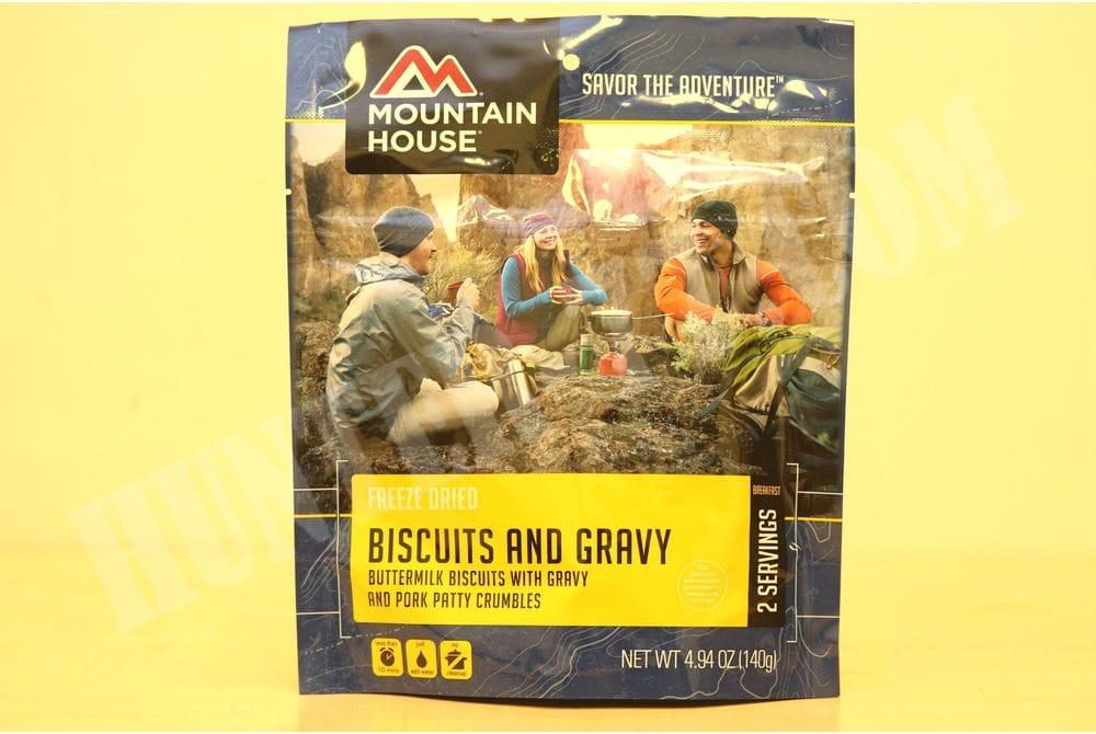 Biscuits and Gravy Лепешка в сливочно-молочном соусе с беконом
