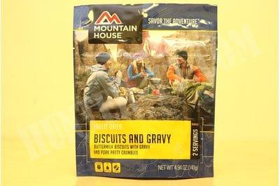 Biscuits and Gravy Лепешка в сливочно-молочном соусе с беконом пакет