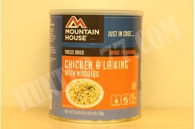 Mountain House, Chicken a la King with Noodles can 11 serving