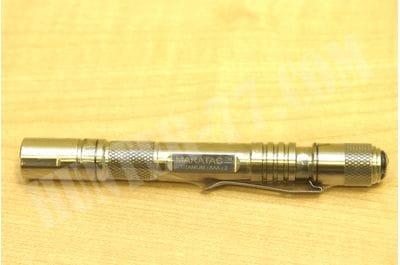 Титановый тактический фонарь AAA Titanium Maratac  385 люм