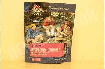 Raspberry Crumble Mountain House