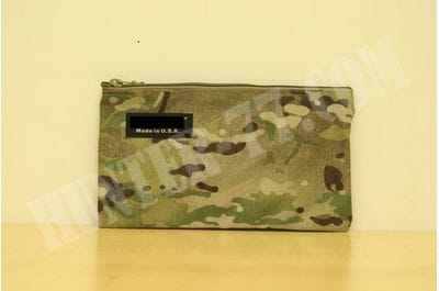 "11"" x 14 "" Document Memo Bag Made in USA (Multi Cam)"