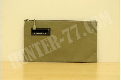 """14 """"x 11"""" Document Memo Bag Made in USA (Tactical Tan)"""