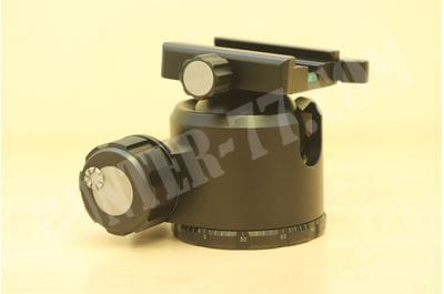 Tripod Ball Head Arca Compatible Low Center Ideal for Target Shooting