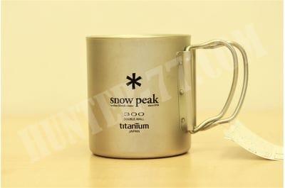 Титановая термокружка 300 мл Snow Peak TI-DOUBLE 300 MUG FH MG-052FHR