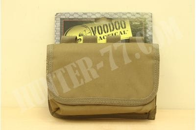 Voodoo Tactical 20-9258 10 Round 50 CAL. Mag Pouch Coyote