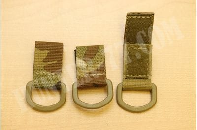 Military Tactical D-Ring MOLLE Adapter (3 pcs) T-Ring Adaptor