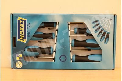Screwdriver set HAZET 810SPC / 6