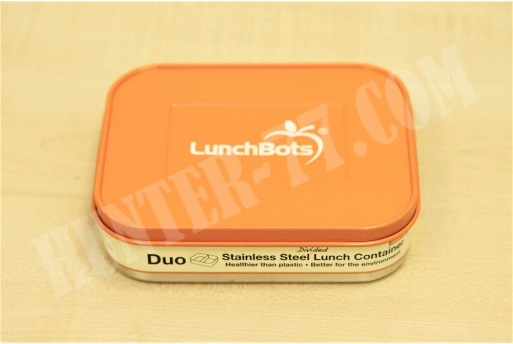 Контейнер для еды LunchBots 0,6 L оранжевый