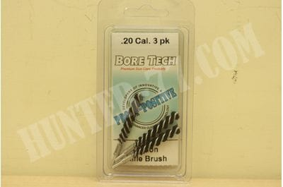 Bore Tech Nylon Rifle Brush (3 pack) NYLON R-BRUSH Bore Tech's .20 CAL (3 PK) BTNR-20-003
