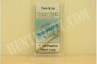 Bore Tech's PROOF-POSITIVE PATCH LOOP - RIFLE  7 MM & UP BTAL-400-00