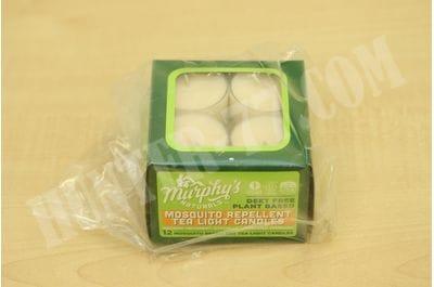 Антимоскитные свечи 0.5oz 12 шт Murphy's Naturals