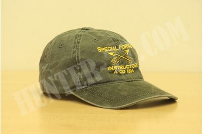US Army Special Forces 18A Officer Instructor Ballcap Hat