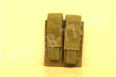 London Bridge LBT-9012B Coyote Brown Double 9mm Mag Pouch Pouch