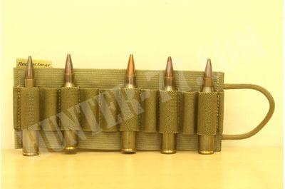 Red Tac Gear 20 Round Ammo Card Khaki .30 .338LM
