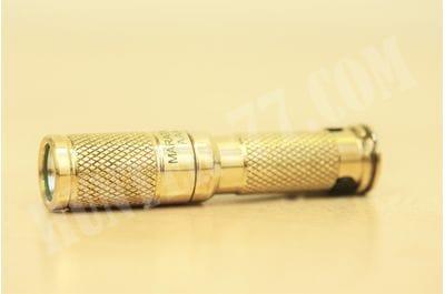 Латунный фонарик AAA Copper Maratac REV 4 светодиодный тактический 170 люм