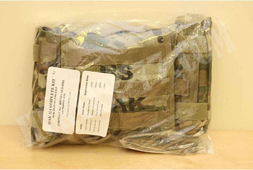 The first-aid kit completed IFAK2 II army of the US Army