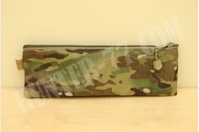 Multicam 12.5x7-Inch Cordura Ballistic Nylon Zipper Bag Made in USA
