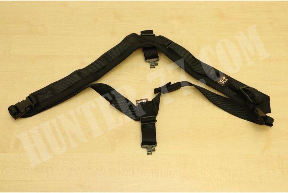 Ремень биатлонный Stud Swivels Черный TAB Gear