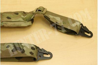 Padded Rifle Sling multicam HK/AI Style Hooks