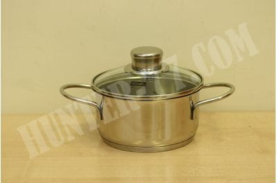 Fissler (Fisler) Kitchen Supplies/Dishes Frying Two-Handed pan, Clear