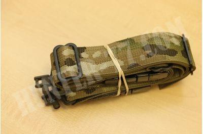 TAB Sling Fastex Buckles (Plastic)  Multicam Stud Swivels