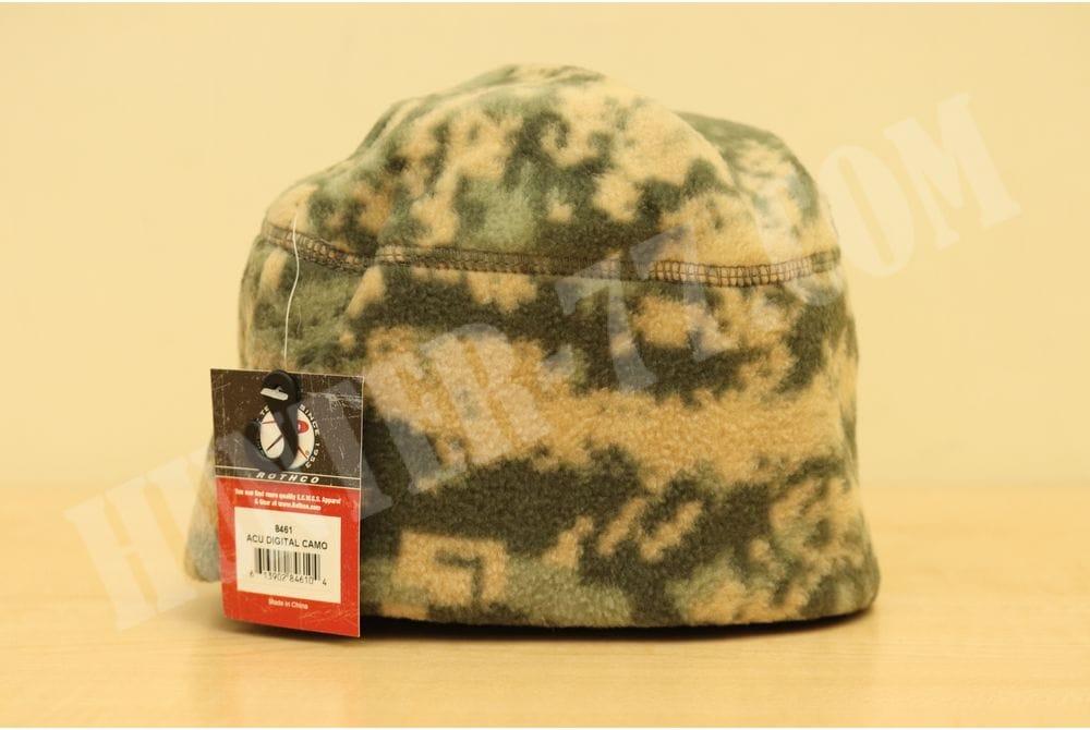 Флисовая шапка Rothco ACU Digital
