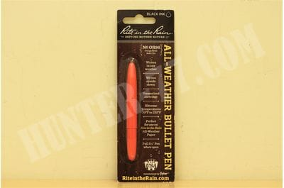 Оранжевая металлическая ручка Rite in the Rain No. OR96